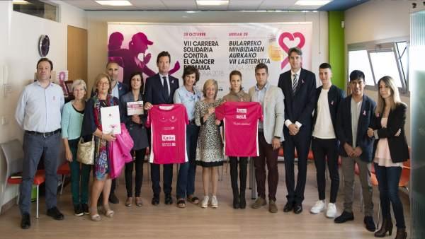 Presentación de la VII carrera solidaria contra el cáncer de mama
