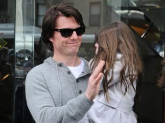 Tom Cruise y su hija Suri