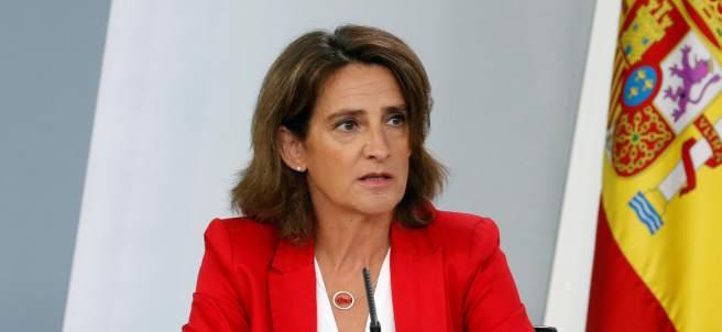 Teresa Ribera, en la rueda de prensa del consejo de Ministros