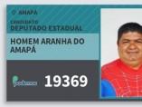 Carné del cadidato Hombre Araña para las elecciones de Brasil.