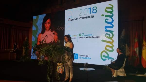 Palencia.- Armisé, durante su intervención