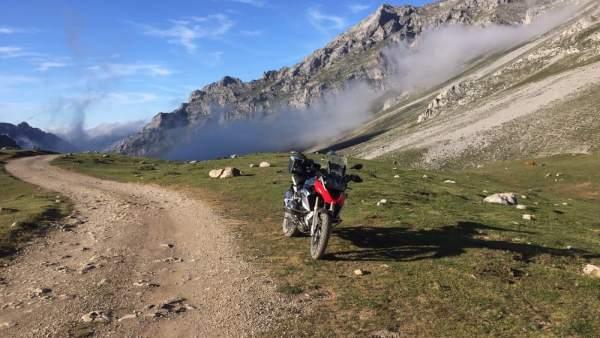 Palencia.- Ruta en moto por la Montaña Palentina