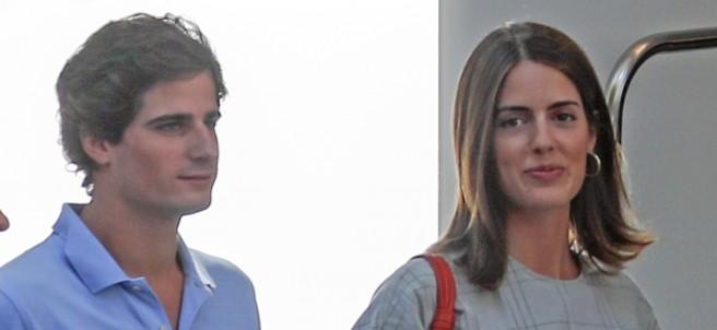Fernando Fitz-James Stuart y Solís y Sofía Palazuelo