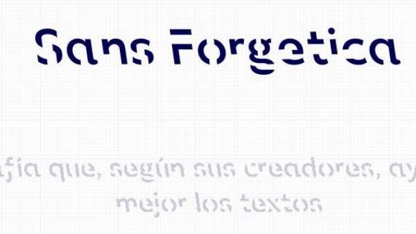 🔤 Descarga aquí la tipografía que según la ciencia te ayuda a memorizar mejor lo que lees