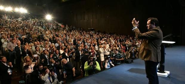 Núñez tras ser proclamado nuevo presidente del PP C-LM