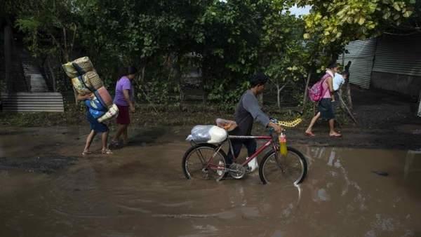 Inundaciones en Centroamérica