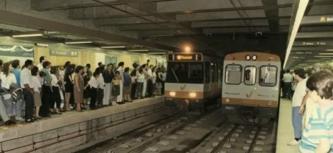 El metro de València cumple 30 años