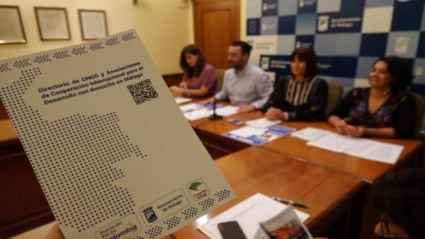 Directorio ONGD de Málaga Ayto raul jimenez ruth sarabia así es colombia unicaja