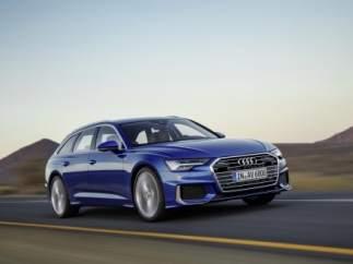 Audi Avant A6.