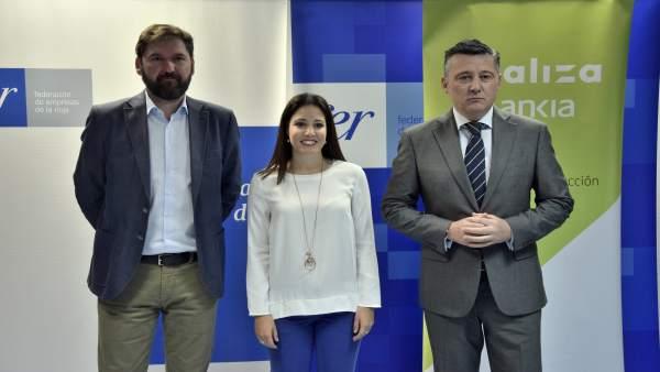 Presentación Bankia y FER programa formación