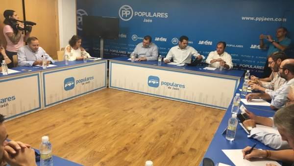 Reunión de la sectorial de Agricultura del PP de Jaén