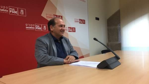 Xoaquín Fernández Leiceaga, portavoz del PSdeG en el Parlamento