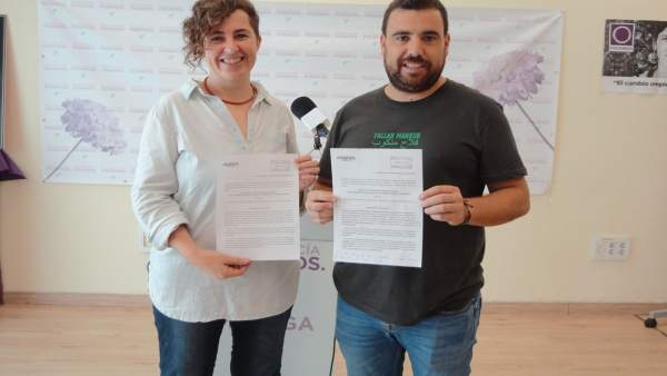 Ani González vecina pedanía ronda y alejandro serrato Podemos provincia málaga