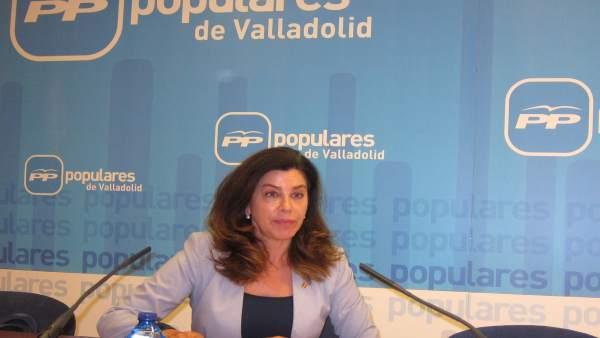 La senadora del PP por Valladolid Arenales Serrano