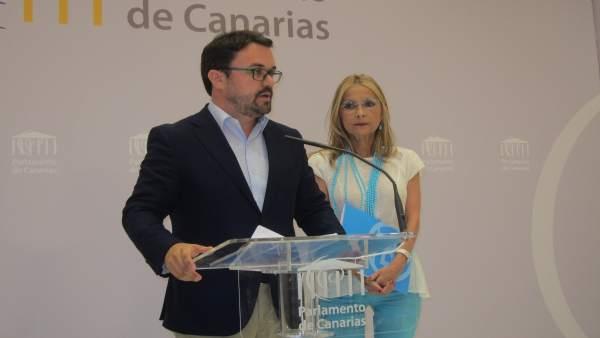 Antona y Navarro, en rueda de prensa