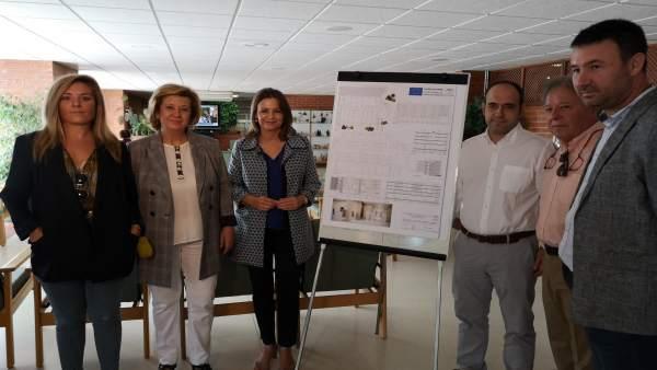 Obras en el centro residencial de personas mayores de Linares