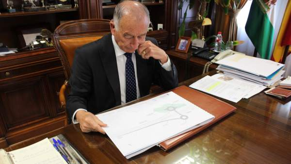 El alcalde de Roquetas de Mar (Almería), Gabriel Amat (PP)