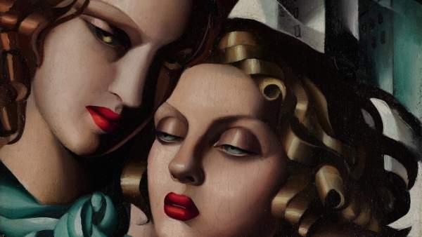 Tamara de Lempicka. Las muchachas jóvenes, 1930 ca.