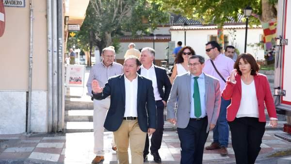 Visita de la Diputación