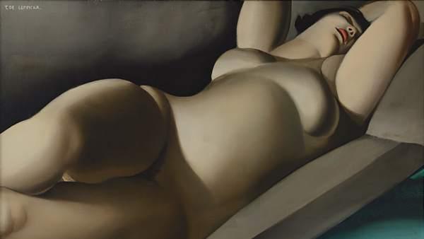 Tamara de Lempicka. La bella Rafaela, 1927, óleo sobre lienzo
