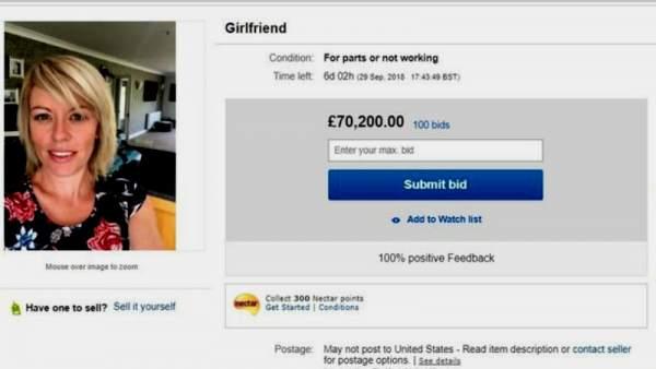 Anuncio de broma en 'eBay'