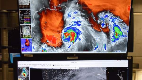 Imagen del huracán 'Michael'