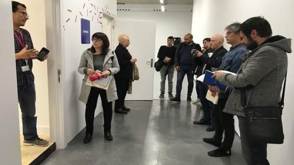 Presentación de los nuevos espacios del Centro de Arte Contemporáneo de Huarte