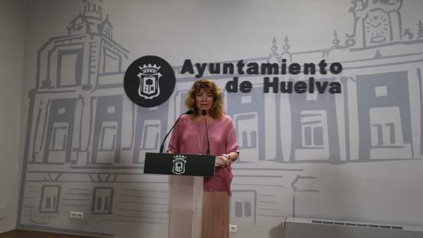 La portavoz del PP en el Ayuntamiento, Pilar Miranda.