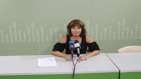 Concejala de Vélez Málaga María José Roberto