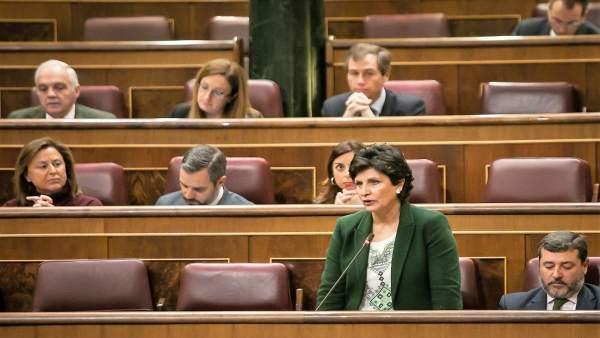 La diputada nacional del PP de Almería Carmen Navarro