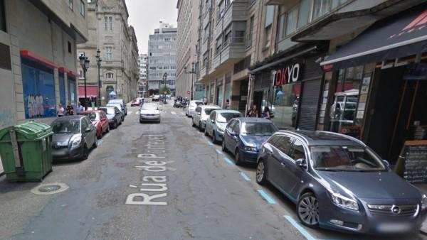Calle Pontevedra en Vigo.