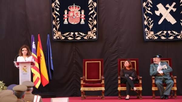 Rosario Sánchez, Francina Armengol y Jaume Barceló