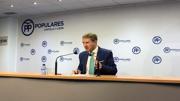 El vicesecretario de Organización del PPCyL, Javier Lacalle