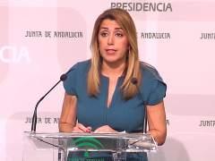 Susana Díaz adelanta elecciones por estabilidad