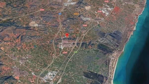 Localización de Almenara (Castellón)