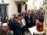 Pertegaz ha sido recordado por los vecinos de Olba