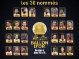 Candidatos Balón Oro 2018