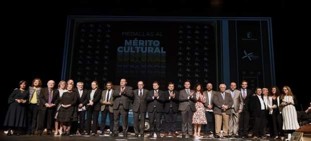 Premiados Medallas al Mérito Cultural C-LM