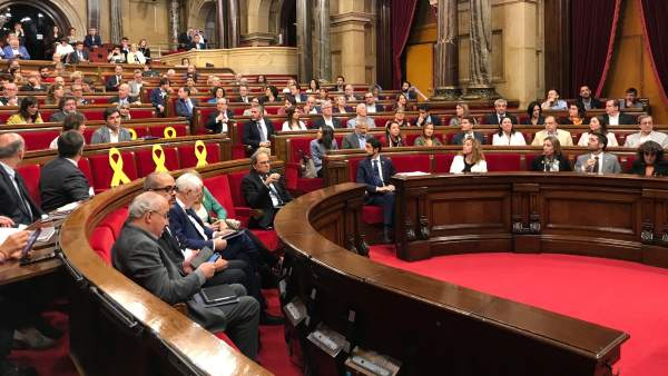 Pleno del Parlament (Archivo)