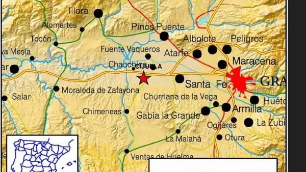 Seísmo en Cijuela, Granada