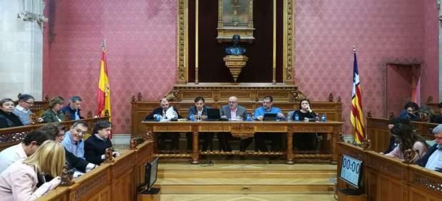 El pleno del Consell de Mallorca