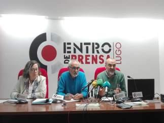 Representantes de Adega y Mariña Patrimonio en Lugo