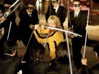 Tarantino hizo un cameo en la película