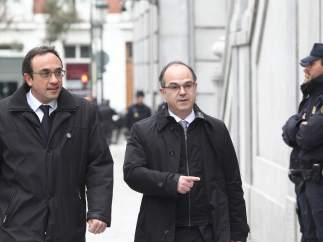 Josep Rull y Jordi Turull