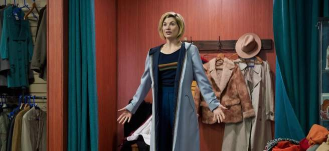 Jodie Whittaker como Dr. Who