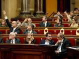 Votación en el Parlament