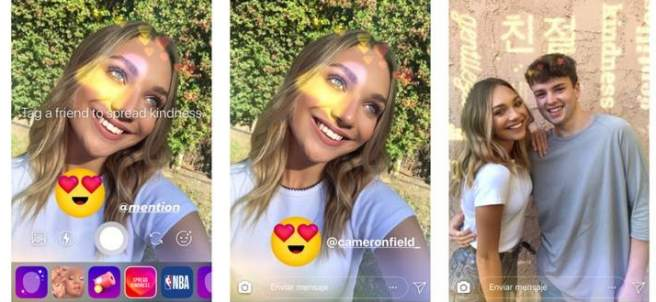 Filtro de amabilidad en Instagram
