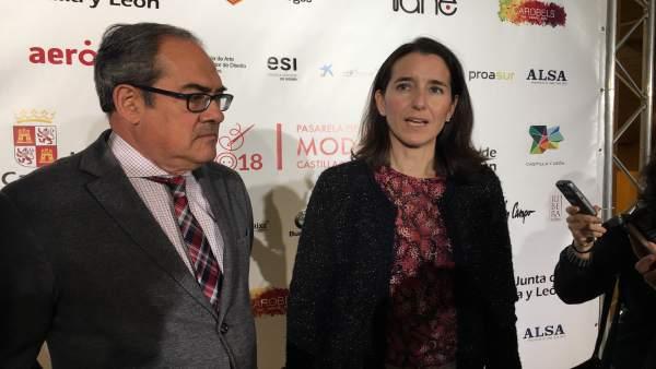 Inauguración de la Pasarela de la Moda de Castilla y León. 9-10-2018