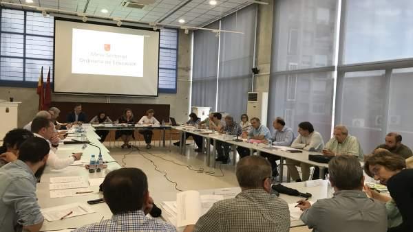 Mesa Sectorial de Oposiciones al Cuerpo de Maestros