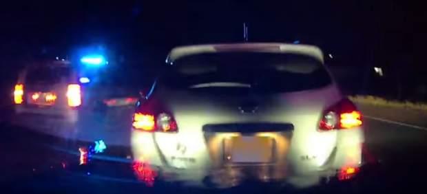 Accidente de un coche Tesla